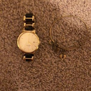 Kate Spade Watch // Alex & Ani Bracelet Bundle